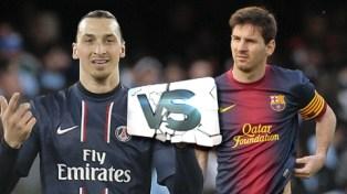 Zlatan VS.Messi