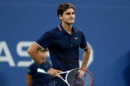 Federer US Open 2013