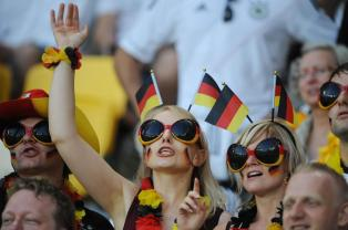 let's go germany Supportrice Allemagne Coupe du monde 2014