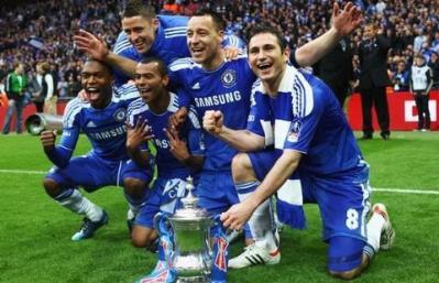 Chelsea champions 2012 contre pSG champion 2014 #