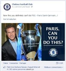PSG Chelsea