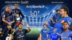 PSG - Chelsea 1:0 après 4'