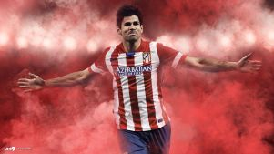 diego-costa-fond d'écran Atletico Madrid