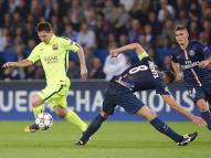 Lionel Messi contrôle égalisation