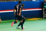 Lucas et Matuidi heureux