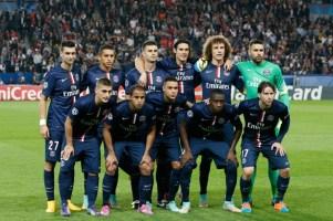 PSG équipe départ 30 septembre