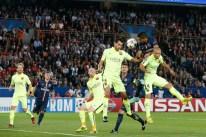 action PSG BArca