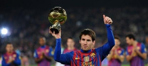 FIFA ballon d'or 2014 Lionel Messi déjà 4 trophées