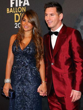 antonella-roccuzzo femme de Messi