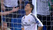 Cristiano Ronaldo desespéré