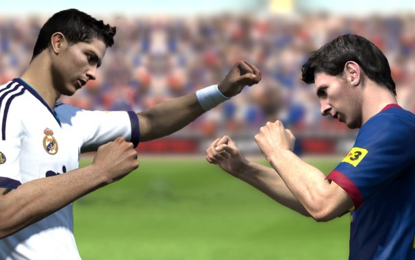 FIFA 15 combat ronaldo messi