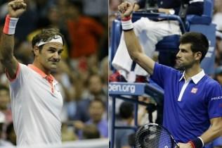 top joueur US Open Federer Djokovic
