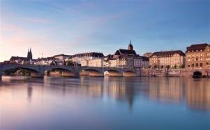 ville de Bâle nnord de la Suisse France allemagne
