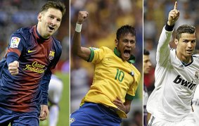 ballon 'dor 2015 messi neymar cr7