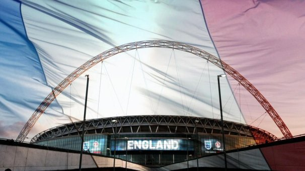 wembley drapeau france