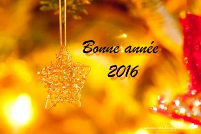 bonne année 2016 étoile
