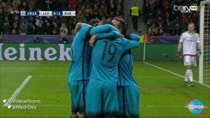 goal messi leverkuesen barcelone