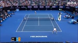 1er tour open australie Federer