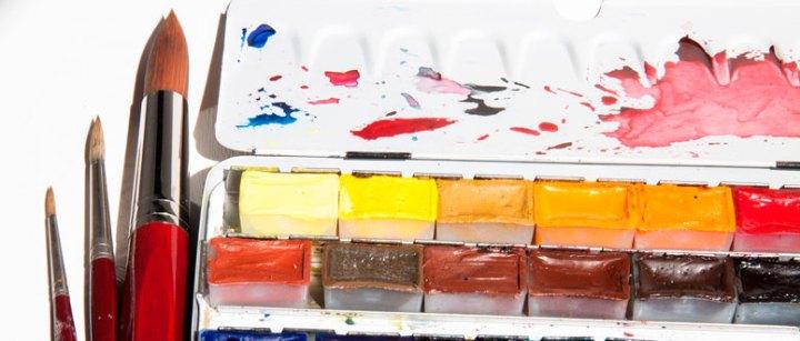 Acuarela, tienda online. Pintar con acuarelas