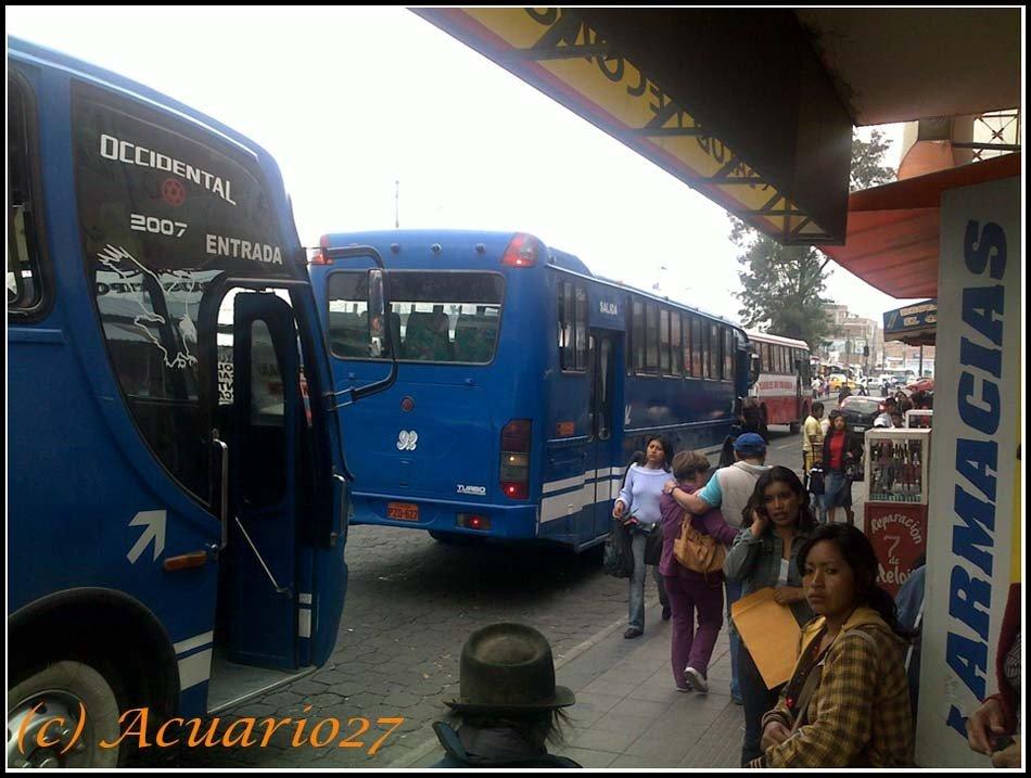 Buses, Av. Pérez Guerrero Ibarra, Foto: Acuario27