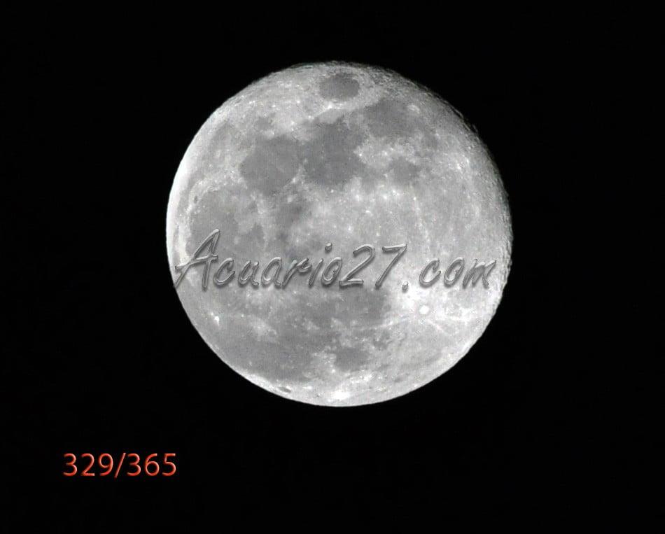 Luna llena. Foto Acuario 27. Archivo