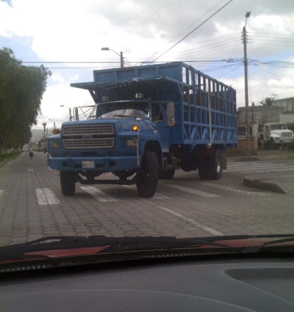 El tráfico en Ibarra