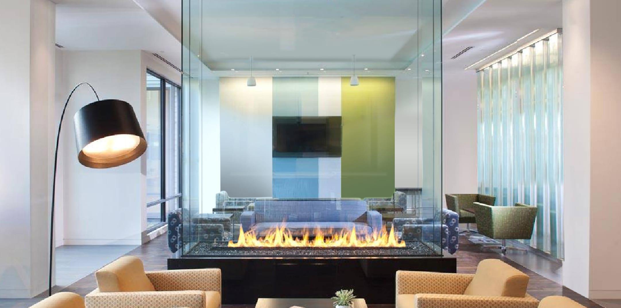 4 Sided Fireplace A Customer S Journey