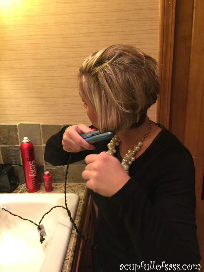 How I Style My Short Hair A Cup Full Of Sass