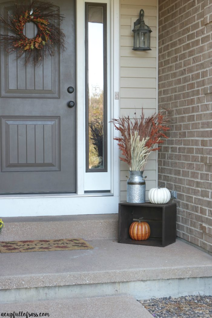Fall Porch Decor Ideas A Cup Full Of Sass