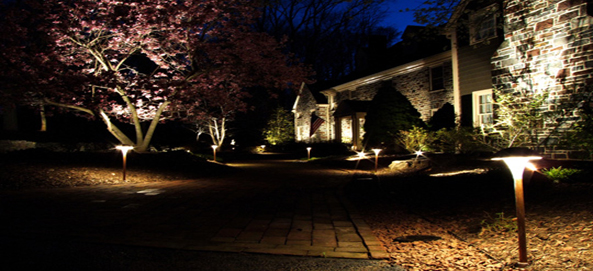 Landscape Lighting Design New Hampshire Landscaping