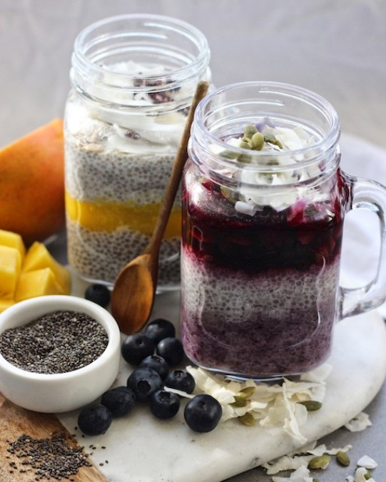 Chia puddings small