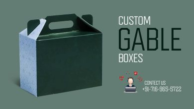 Photo of Custom Gable boxes – Modern Packaging with Amazing Features