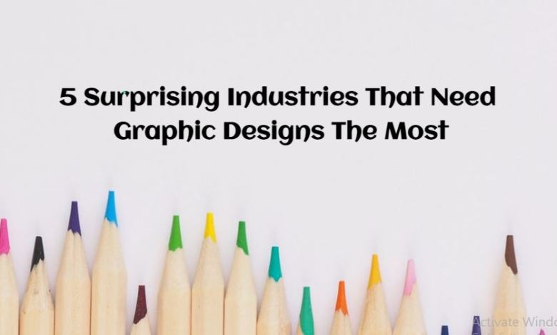 5 Surprising Industries That Need Graphic Designs The Most