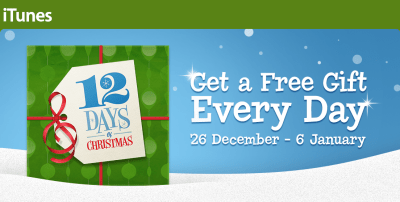 iTunes 12 Dyas of Christmas App