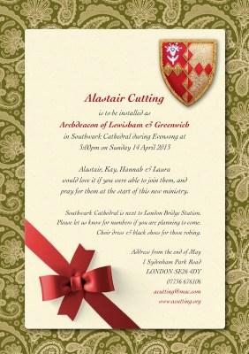 Southwark Invitation