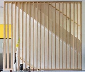 bois a vos mesures avec lames verticales