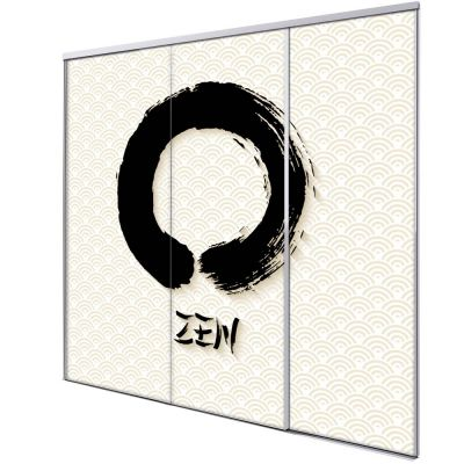 panneau japonais coulissant zen 3 vantaux