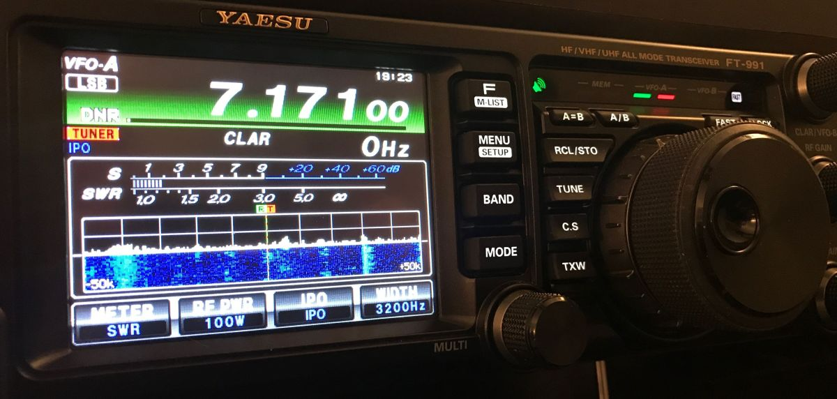 Yaesu FT-991 upgraded to FT-991A