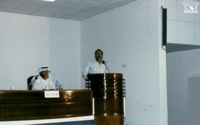 بعض مناسبات النادي : – الشاعران / محمد أحمد الزيداني – علي حسن الشهراني ، وآخرون …