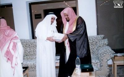 مسامرة مع الشيخ / محمد المحيميد ، رئيس محاكم منطقة عسير .