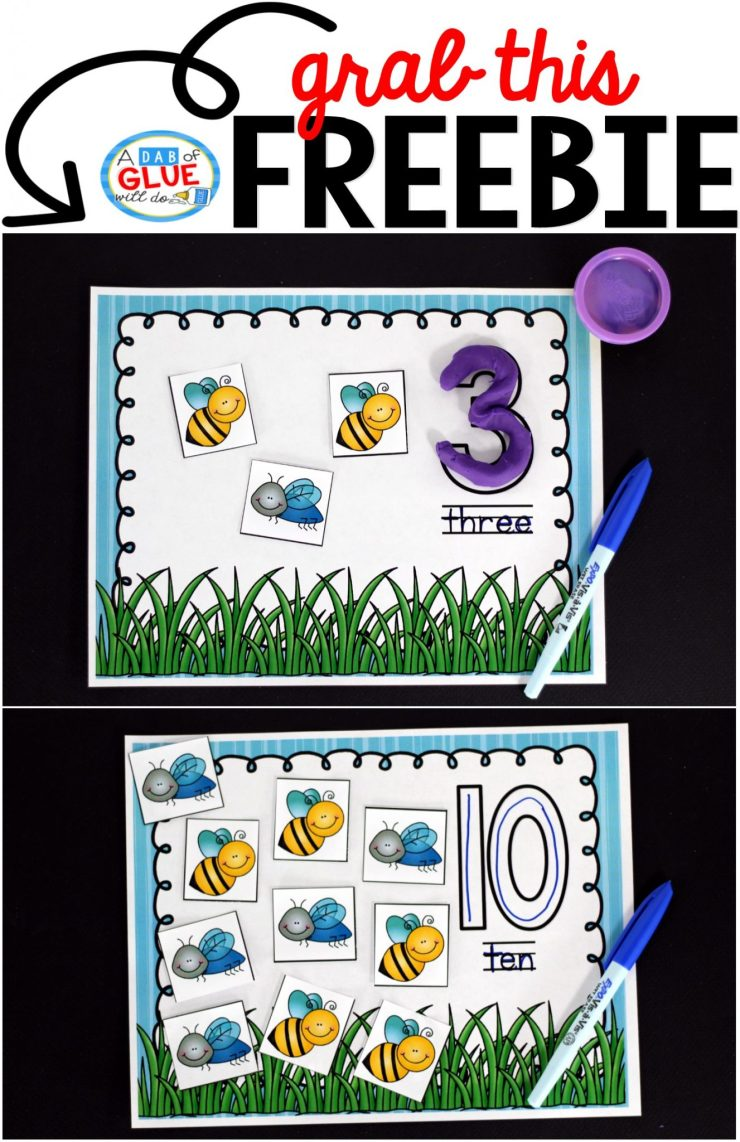 Insect Counting Mats freebie comes with insect counting mats for numbers 1 through 20. In addition there are five pages of insect cards. Insect Counting Mats freebie comes with insect counting mats for numbers 1 through 20. In addition there are five pages of insect cards.