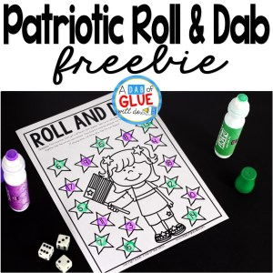 Patriotic Roll and Dab Freebie