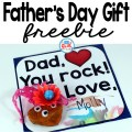 Here is a quick and easy father's day craft for FREE.