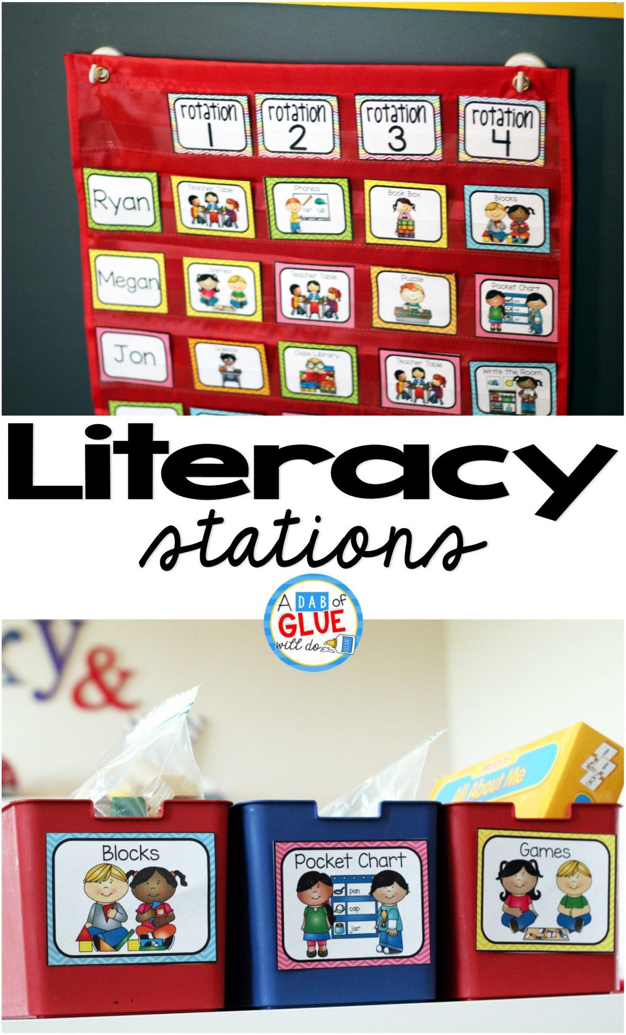 Literacy Stations