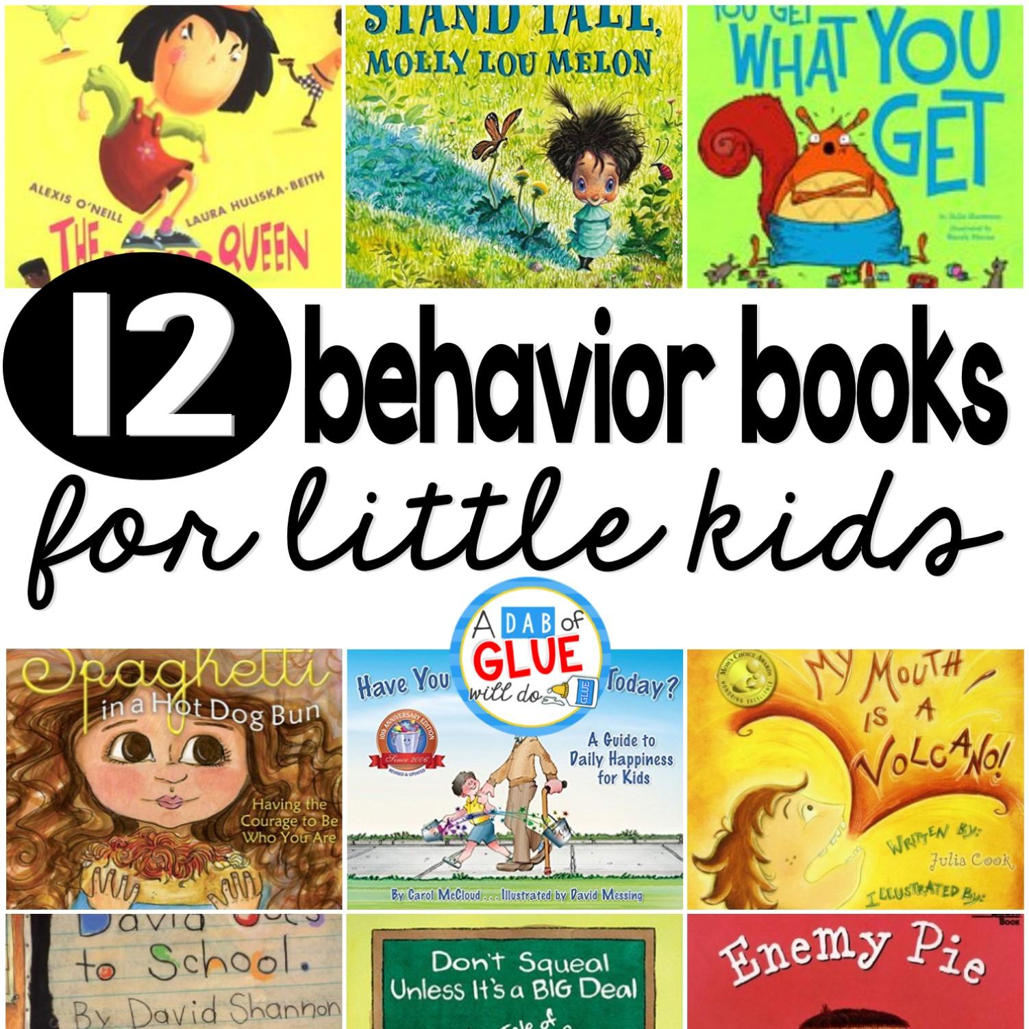 12 Classroom Behavior Books For Little Kids