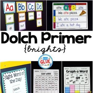 Dolch Primer {Brights}