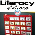 THE Literacy Stations printable for your classroom! Perfect for literacy centers in Preschool, Kindergarten, First Grade, and Second Grade including editable printables. Over 50 pages of literacy station (literacy center) ideas to get the creative juices flowing!