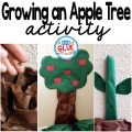 One of my favorite activities to do with my class is growing an apple tree in the classroom. Before I lose you...no, it is not a real tree. It is simply one made of butcher paper, but the the kids work hard to grow it from planting the seed to picking the apples. It is the perfect interactive visual that will be help students see exactly how a tree is formed.
