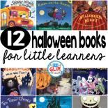 Our 12 favorite Halloween books are the perfect addition for your Halloween lesson plans. These are great for preschool, kindergarten, or first grade students.