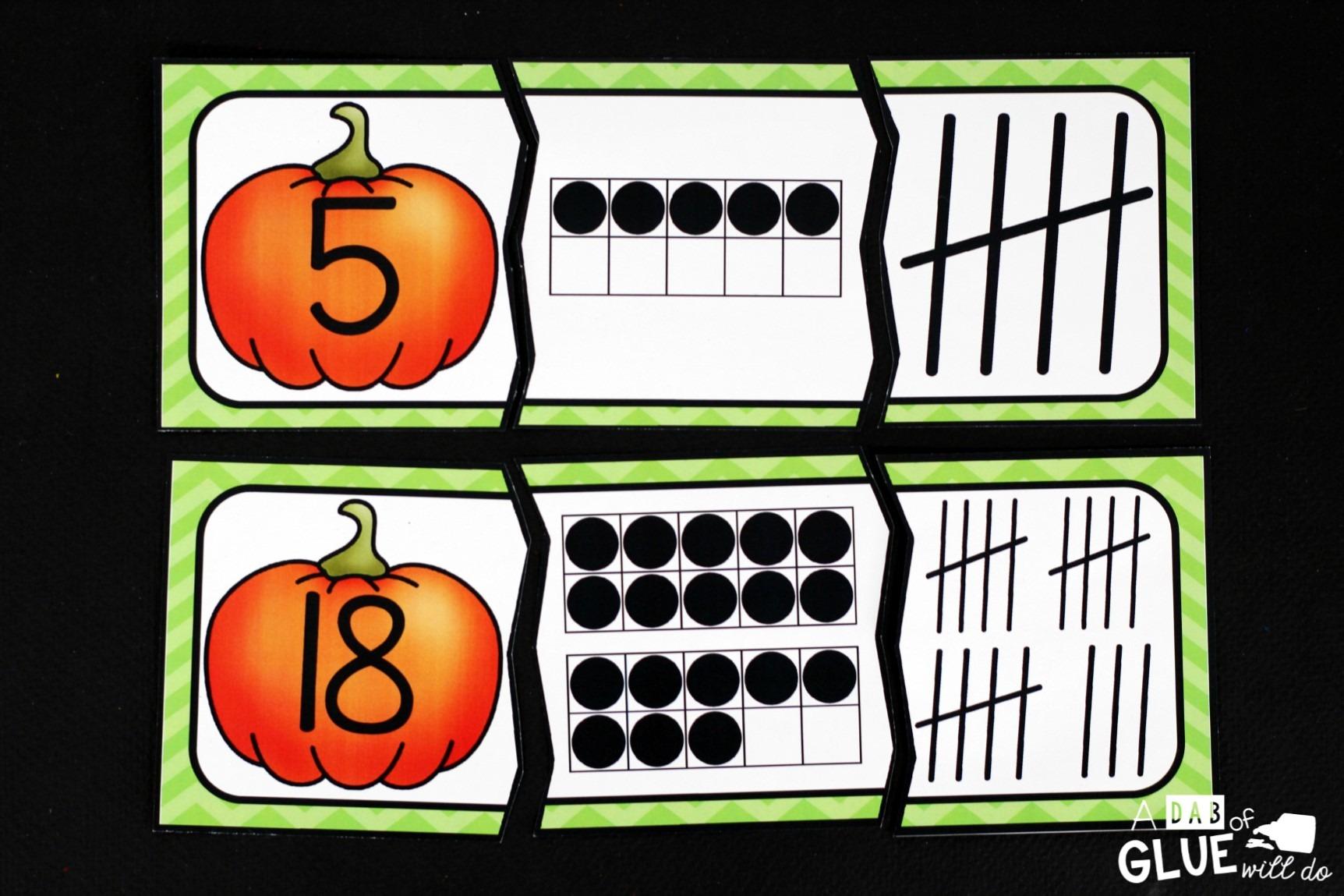 Pumpkins Literacy And Math Centers